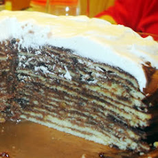 Fourteen Layer Chocolate Cake