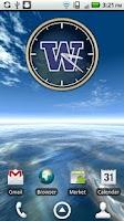 Screenshot of Washington Huskies Clock