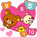 Rilakkuma Touch Number icon