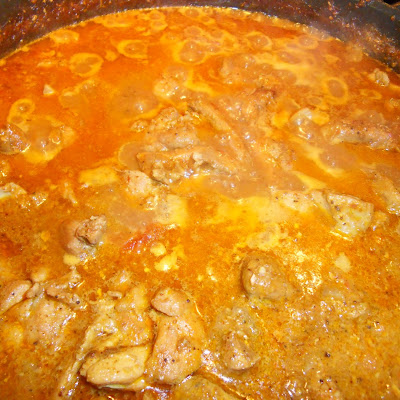 Goan Chicken Curry with a Thick and Tasty Sauce
