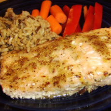 Delicious and Simple Baked Salmon With