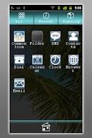 Screenshot of Beach Theme – GO Launcher EX