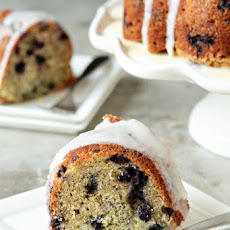 Lemon-Blueberry Yogurt Cake