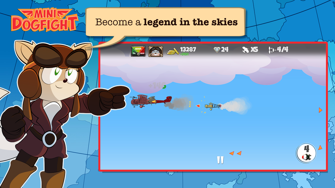 Mini Dogfight Screenshot 9