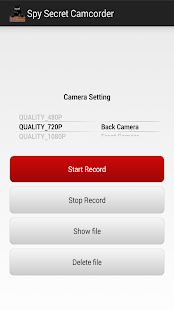 App Spy Secret Camcorder APK for Windows Phone - Android games and ...