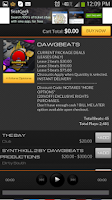 Screenshot of Instrumental Rap Beats