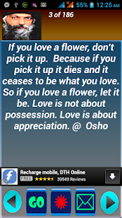 Osho Quotes - screenshot