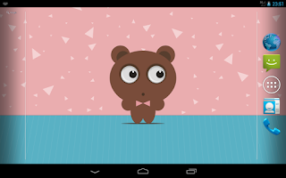 Screenshot of Tony Bear Live Wallpaper Free
