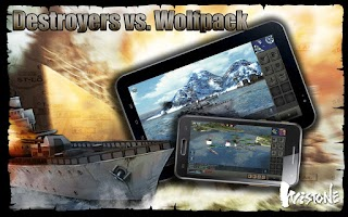 Screenshot of Destroyers vs. Wolfpack