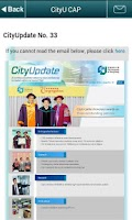 Screenshot of CityU Mobile CAP