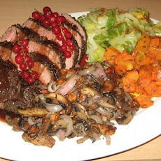 Spicy Ostrich Roast