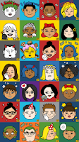 Screenshot of EveryFace – caricature for all