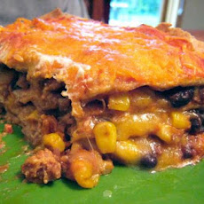 Stacked Burrito Pie