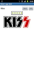 Screenshot of Metal Logo Quiz