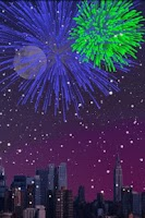 Screenshot of City Fireworks Free