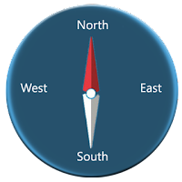 Screenshot of Digital Compass