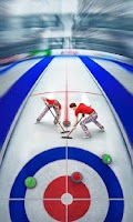 Screenshot of Curling3D lite