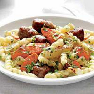 Gemelli with Fennel and Hot Sausage
