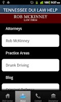 Screenshot of Tennessee DUI Law Help
