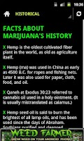 Screenshot of Marijuana Facts