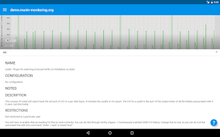 Screenshot of Munin for Android
