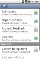Screenshot of Speed Dial Folder