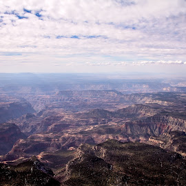 Grand Canyon II by Kelly Hernbloom - Landscapes Caves & Formations ( colorado photographer, desert, arizona, rocky mountains, canyon, aerial photography, deserts, grand canyon )