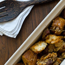 Chorizo and Green Olive Stuffing