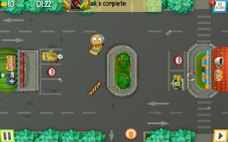 Screenshot of Car Park Control