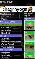 Screenshot of Chagrin Yoga