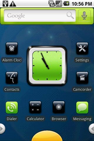 Black+Green: PandaHome Theme