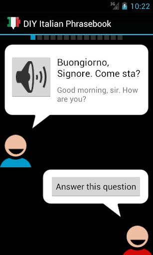 DIY Italian Phrasebook