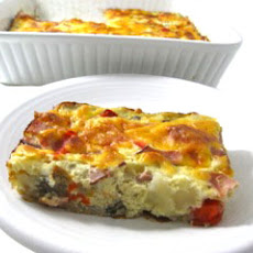 Super Easy, Low Calorie Breakfast Quiche