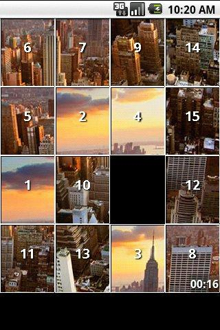 City Puzzles islider puzzles