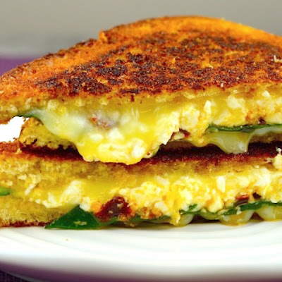 Greek-Style Grilled Cheese