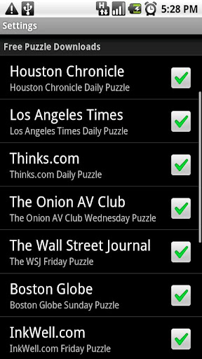 shortyz-crosswords for android screenshot