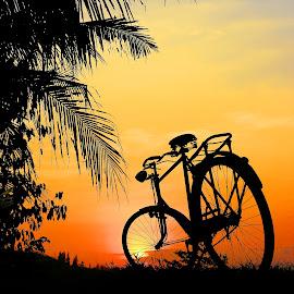 bulak jembar by Wartono Kumpulono - Transportation Bicycles