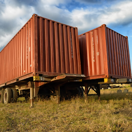 Container Van by Ferdinand Ludo - Transportation Other ( at the yard, container van )