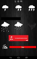 Screenshot of Thunder Storm Sounds