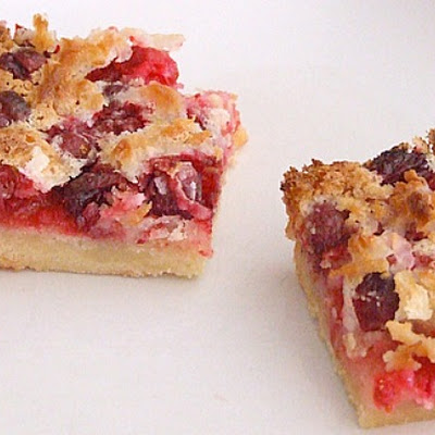 To-Die-For Cranberry- Coconut Squares