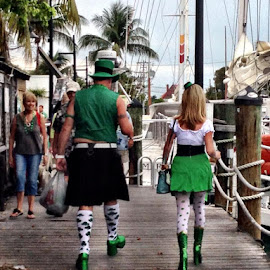 St. Patricks's Day Pros by Rebecca Gregoire Zerquera - People Street & Candids