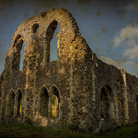 Waverley Abbey... by Graham Markham - Buildings & Architecture Decaying & Abandoned ( uk, bracketed, farnham, hdr, surrey, ruins, abbey, mkii )