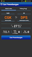 Screenshot of PadiAir Tiket Pesawat Mobile