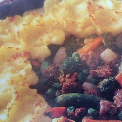 Warming Shepherd's Pie