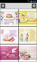 Screenshot of Happy Birthday Card & Message