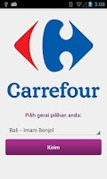 Screenshot of My Carrefour
