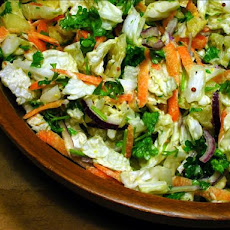 Carla's Chinese Cabbage & Parsley  Salad