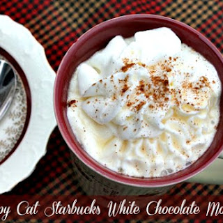 Copy Cat Starbucks White Chocolate Mocha