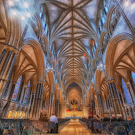 Another of my recent HDR-day at Lincoln Cathedral Lincoln Cathedral HDR 002 (C) Jack Torcello by Jack Torcello - Buildings & Architecture Architectural Detail ( christian, uk, england, europe, lincoln, church, cathedral, architecture, worship, medieval )