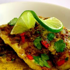 Fragrant Coconut Lime & Ginger Fish Bake